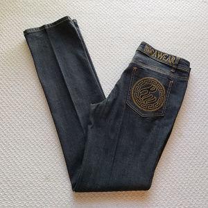Rocawear Jr 9 Dark Wash Jeans Straight Leg